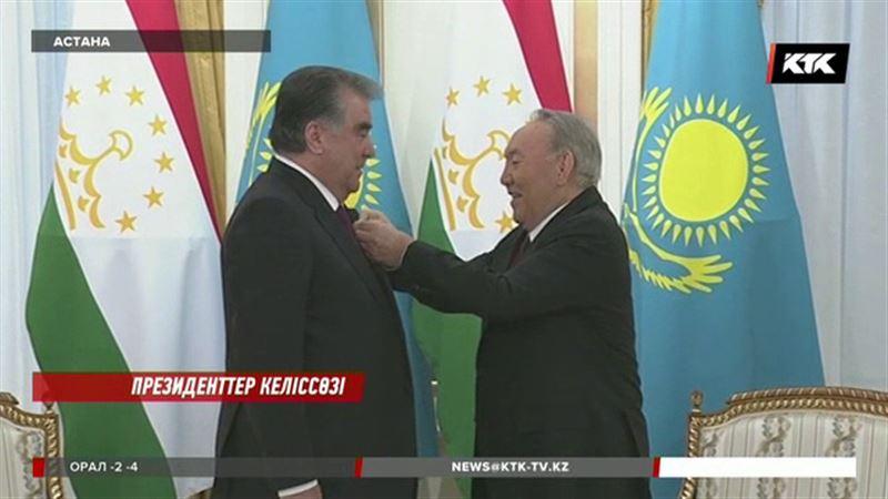 Назарбаев Рахмонға тосын сый жасады