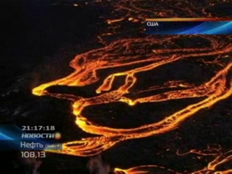 На Гавайях проснулся один из самых активных в мире вулканов