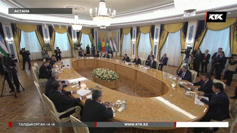 «Сағындық»: Назарбаев встречает соседей