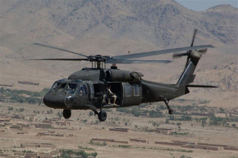 Иранда АҚШ-тың әскери тікұшағы құлады