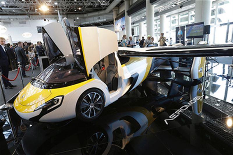 В Японии считают, что летающие автомобили помогут решить проблему с пробками