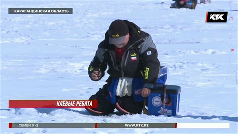 Рыбаки из 13 стран приехали в Казахстан со своими мормышками