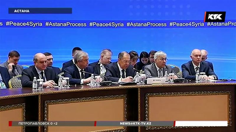 Дипломаты России, Турции и Ирана провели встречу в Астане без участия Дамаска
