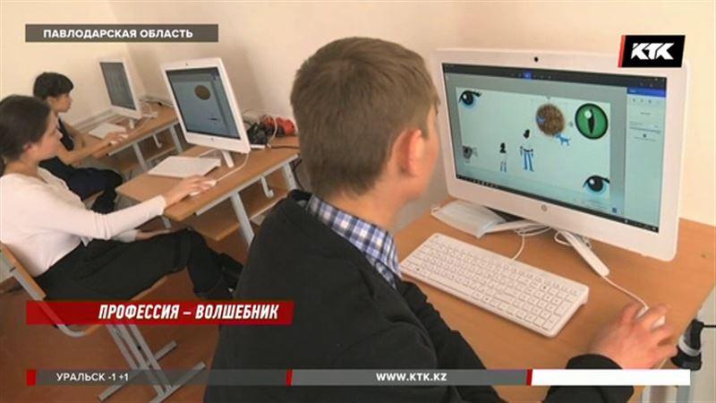 Каждому воспитаннику Песчанского интерната подарили компьютер