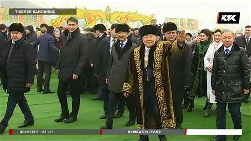 Шапан киген Нұрсұлтан Назарбаев елді  Ұлыстың Ұлы күнімен құттықтады