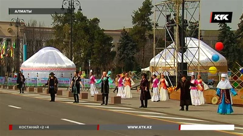 Алматинцы с нетерпением ждут праздника – будут сюрпризы