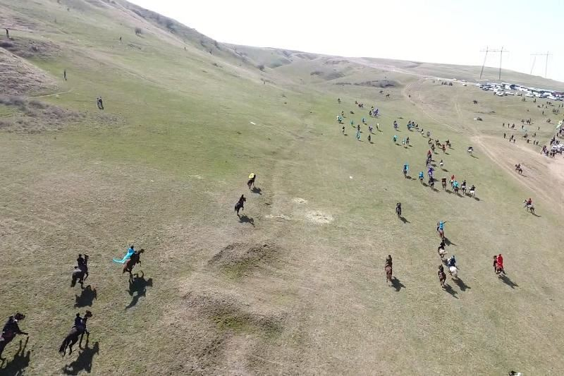 Оңтүстікте 500 атты адам флэшмоб өткізді
