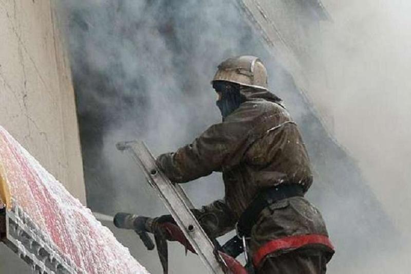 Петропавлда жатақхана өртеніп, 150 адам эвакуацияланды