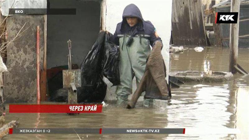На востоке из берегов вышла Уба и затопила 53 дома
