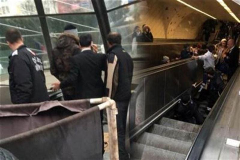 ВИДЕО: В Турции человека засосало под эскалатор