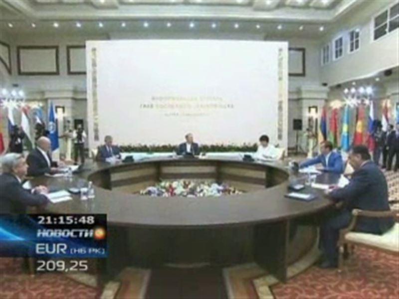 Начался неформальный саммит глав государств ОДКБ