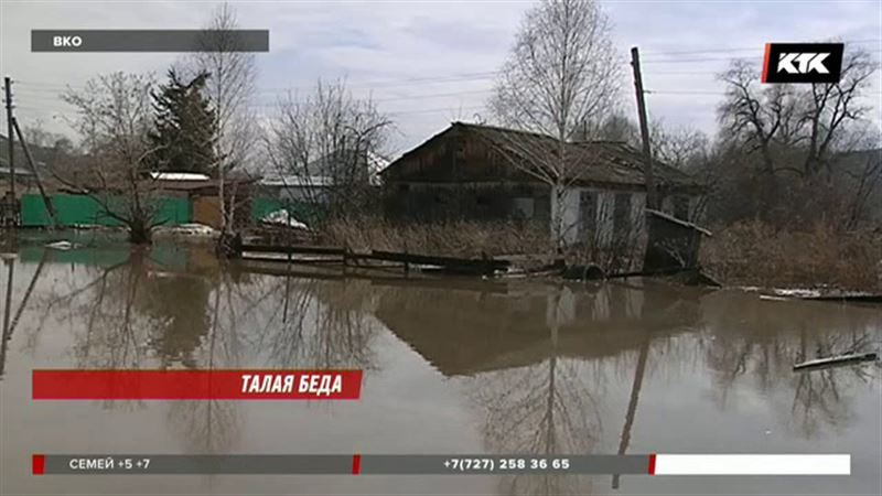 Стихия проверяет на прочность восточноказахстанцев – Уба вновь вышла из берегов