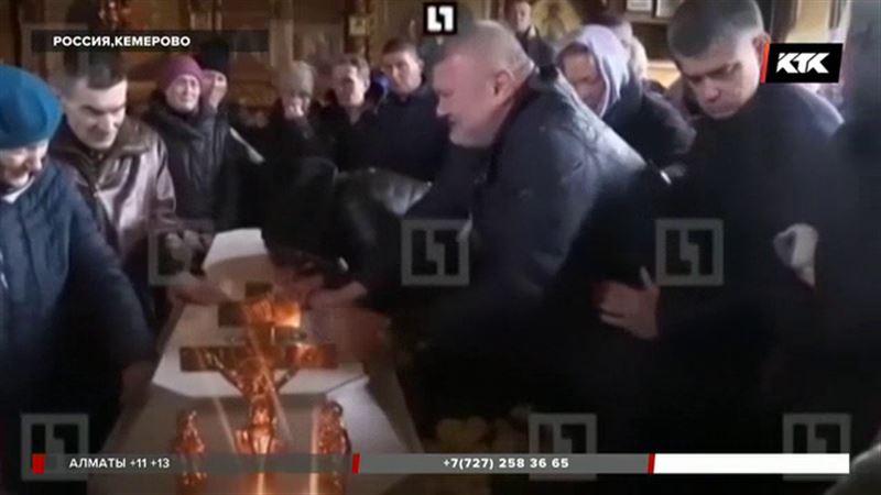 В Кемерове прощаются с погибшими
