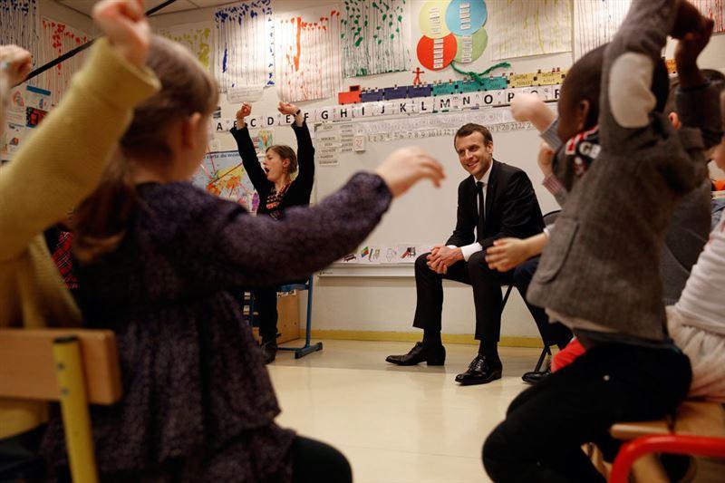 Франция вводит обязательное дошкольное образование с трех лет