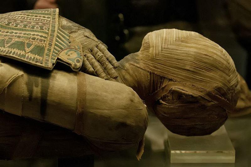 В считавшемся пустым саркофаге обнаружена древняя мумия