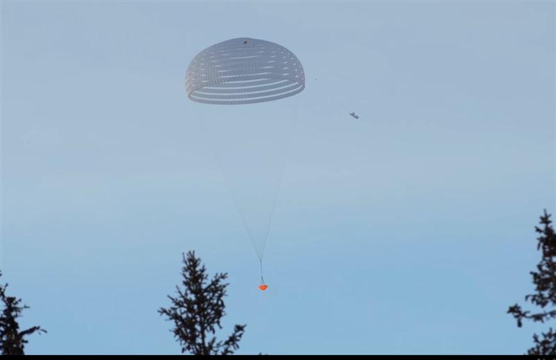 В Швеции успешно прошли испытания марсианского парашюта