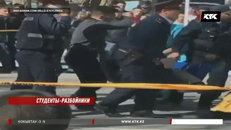 Троих участников перестрелки в Кызылорде отправили в СИЗО