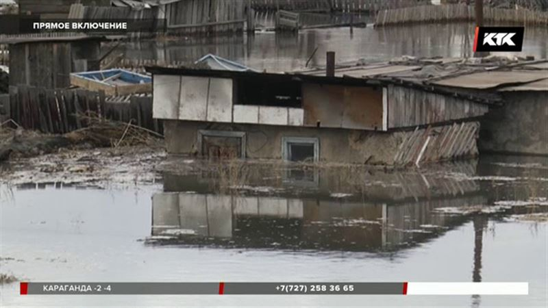 После взрывов на Иртыше вода хлынула в нижнюю часть Семея