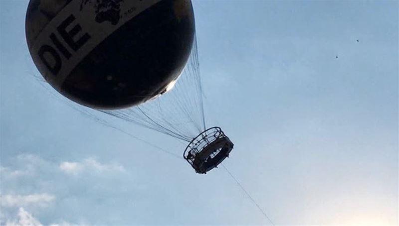 Девять человек пострадали при крушении воздушного шара