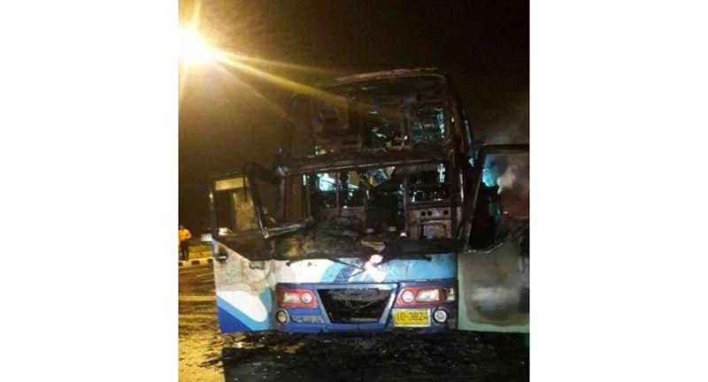 Таиландта автобустағы өрттен 20 адам қаза болды