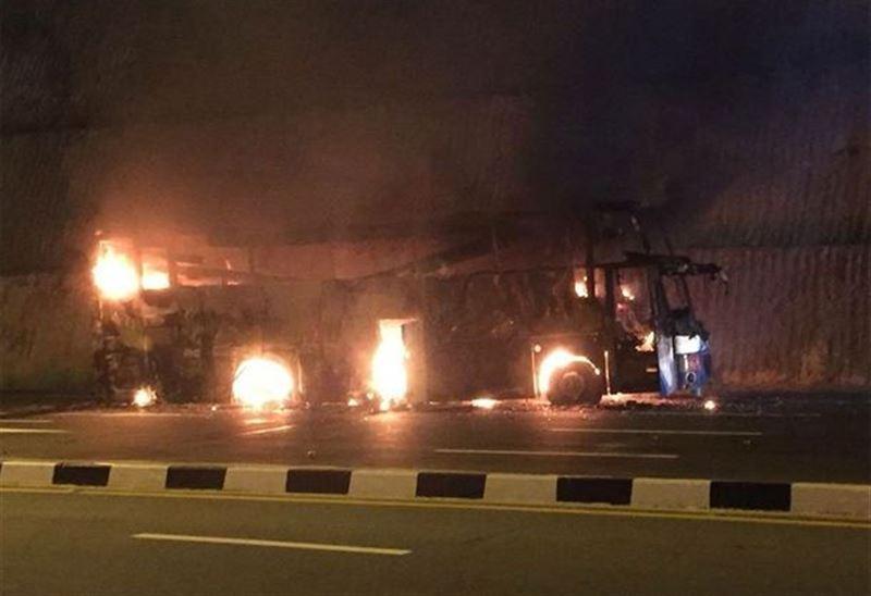 В Таиланде 20 мигрантов из Мьянмы сгорели в автобусе