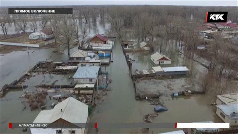 В Семее затопило еще один поселок
