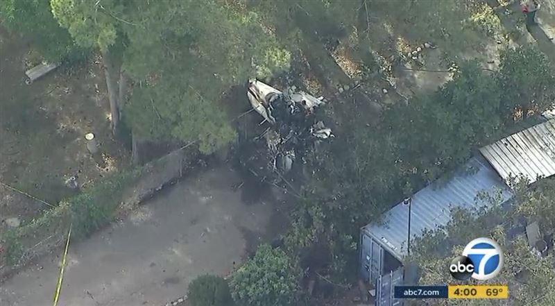Два человека погибли в результате крушения небольшого самолета в США