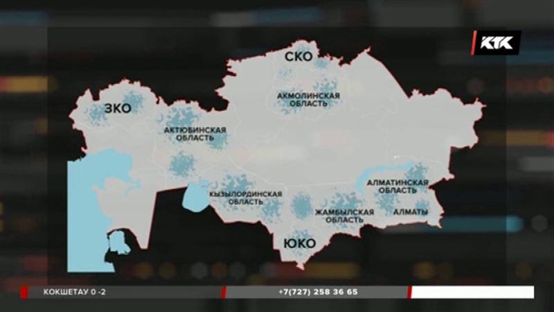 Паводки наступают по всему Казахстану