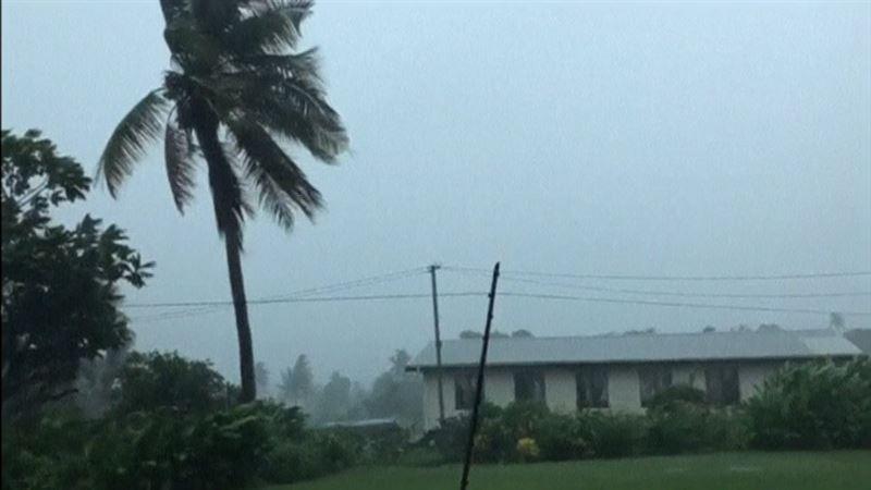 ВИДЕО: Фиджидегі су тасқынынан адамдар зардап шегуде