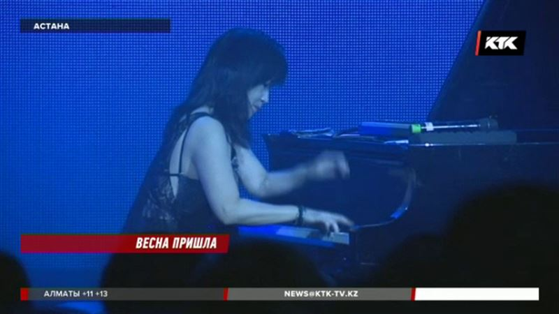 Кейко Мацуи впервые дала концерт в Астане