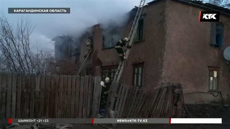 В Карагандинской области пожар унес жизнь 29-летнего мужчины