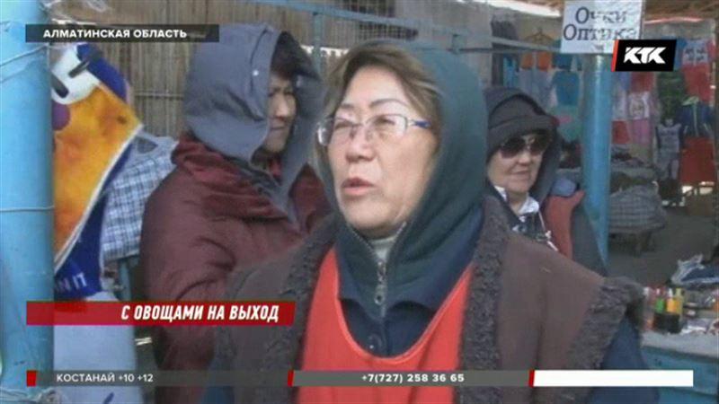 Уштобинские торговцы негодуют – власти хотят разбить сквер на месте базара