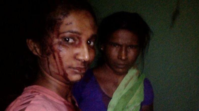 В Индии девушка напала на тигра и побила его палкой