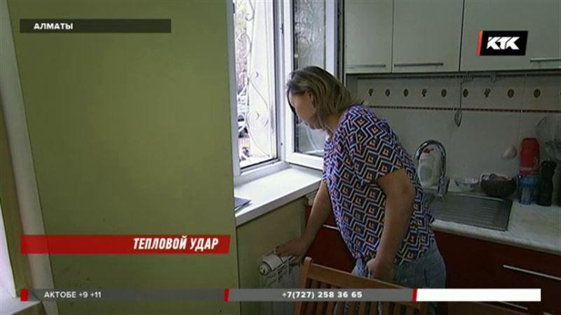 Алматинцы устали от жары в квартирах: в помещениях доходит до +30