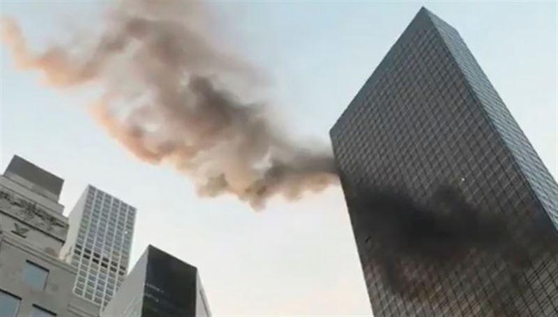 В небоскребе Trump Tower произошел пожар, погиб один человек