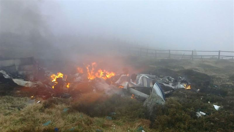 Пять человек погибли при крушении легкомоторного самолета