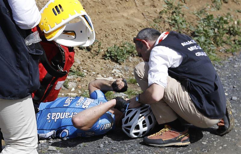 23-летний велогонщик скончался после падения на гонке «Париж — Рубэ»