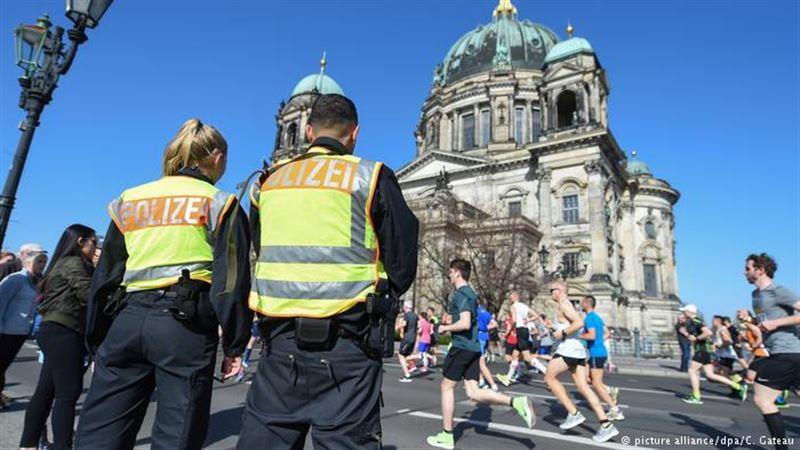В Берлине предотвратили теракт на полумарафоне