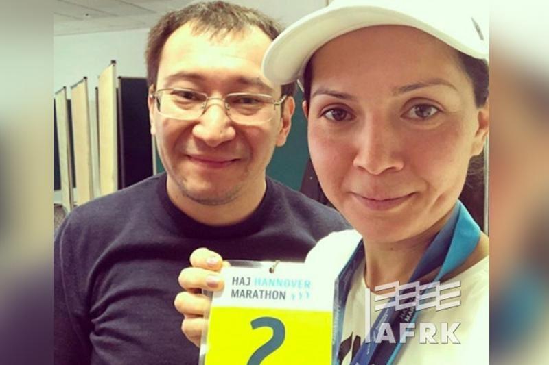 Германиядағы марафонда қазақ қызы екінші орын алды