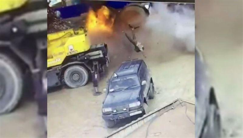 Сварщик скончался при взрыве цистерны