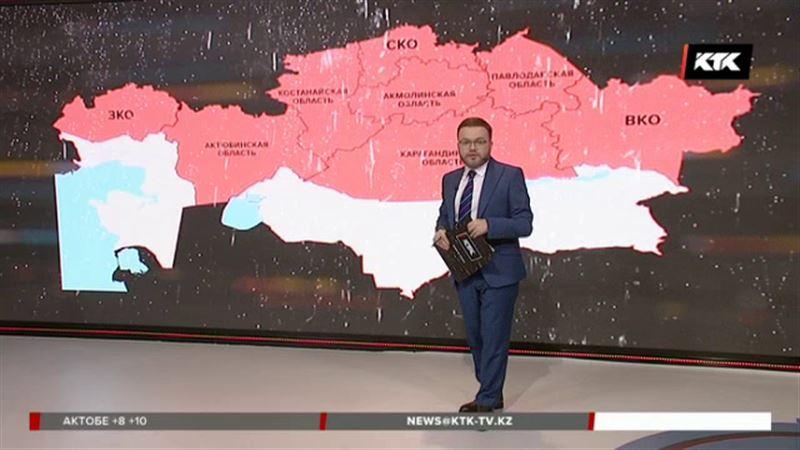 Восьми регионам грозит наводнение