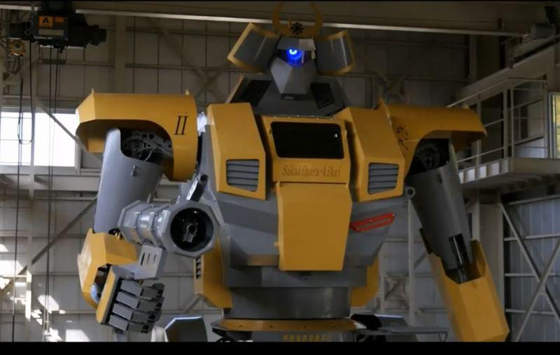 В Японии создали гигантского аниме-робота