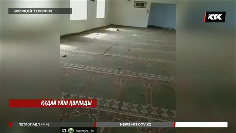 Құдай үйін қорлады: Жамбыл облысында мешітке шабуыл жасалды