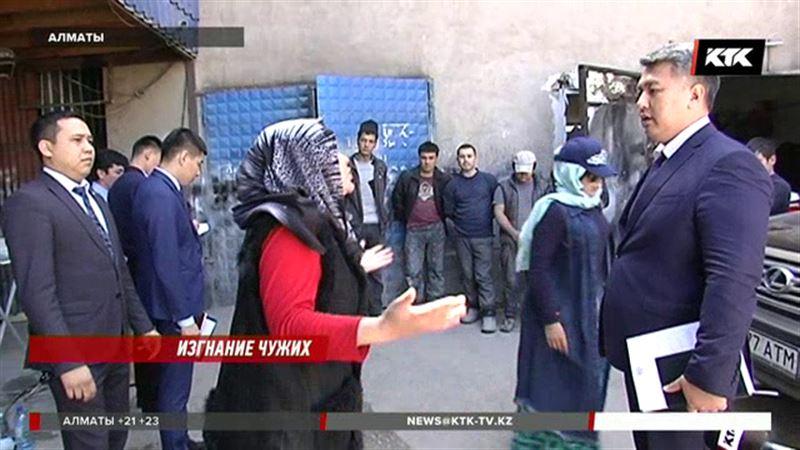 Алматинские налоговики выловили десятерых узбекских мигрантов