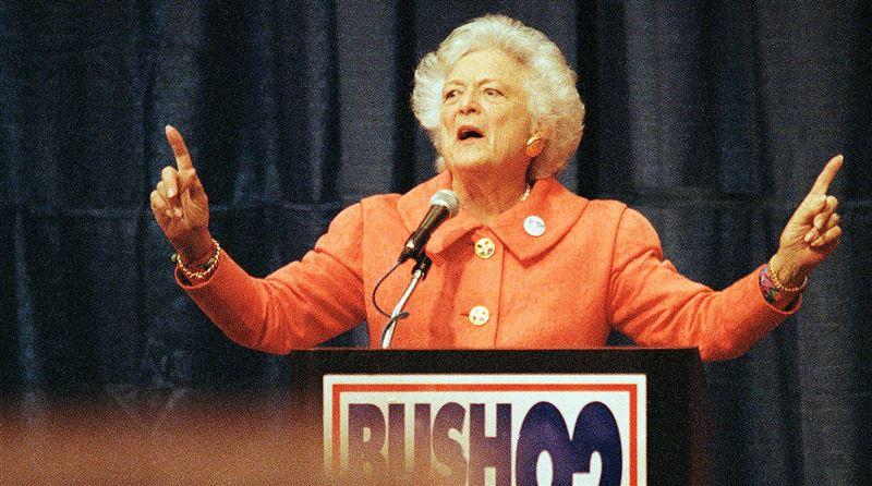 Американские СМИ случайно «похоронили» жену Джорджа Буша-старшего