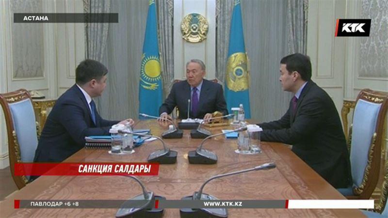 Назарбаев Сүлейменовке қаржы нарығын шайқалтпауға пәрмен берді