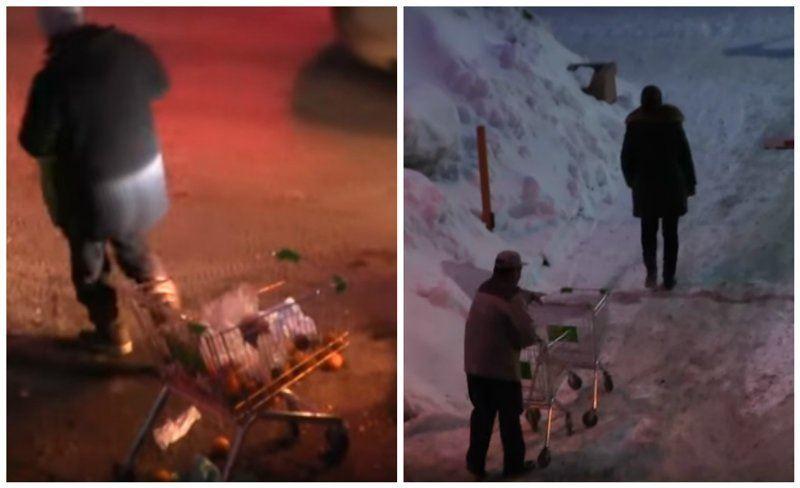 ВИДЕО: Мерзімі өтіп кеткен жарамсыз азық-түлік талан-таражға түсті
