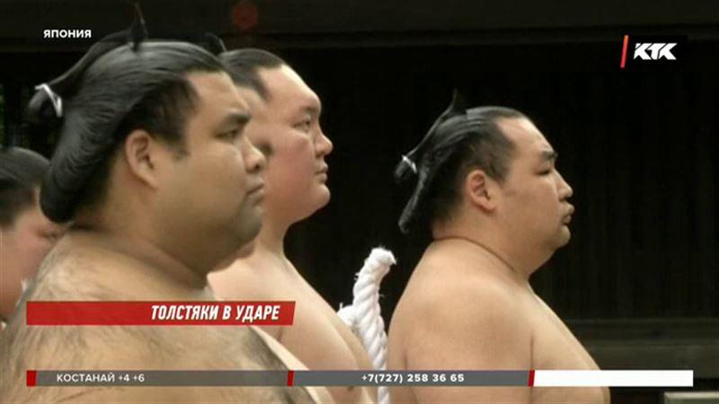 Японские толстяки сошлись в схватке