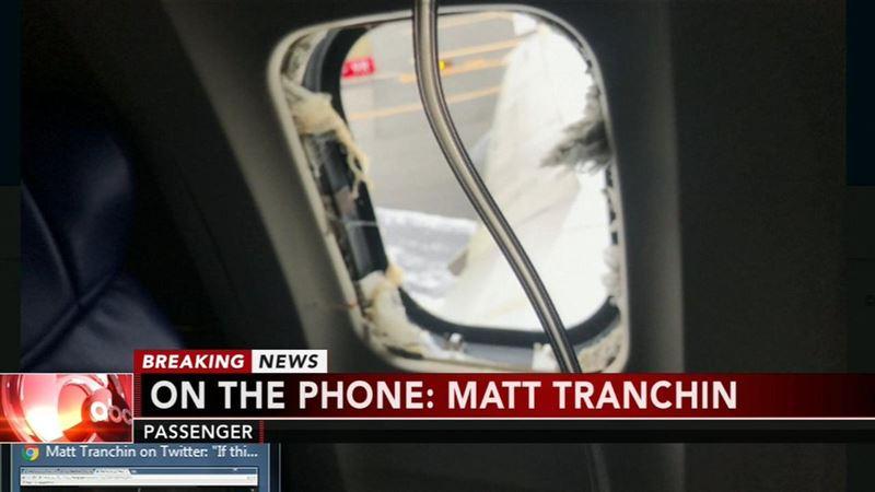 В США взорвался в воздухе двигатель пассажирского лайнера