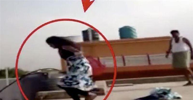 12-летняя девочка прыгнула с крыши дома в попытке убежать от собственного разъяренного отца